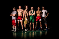 2013 Lincoln Wrestling Sectional Qualifiers Portraits
